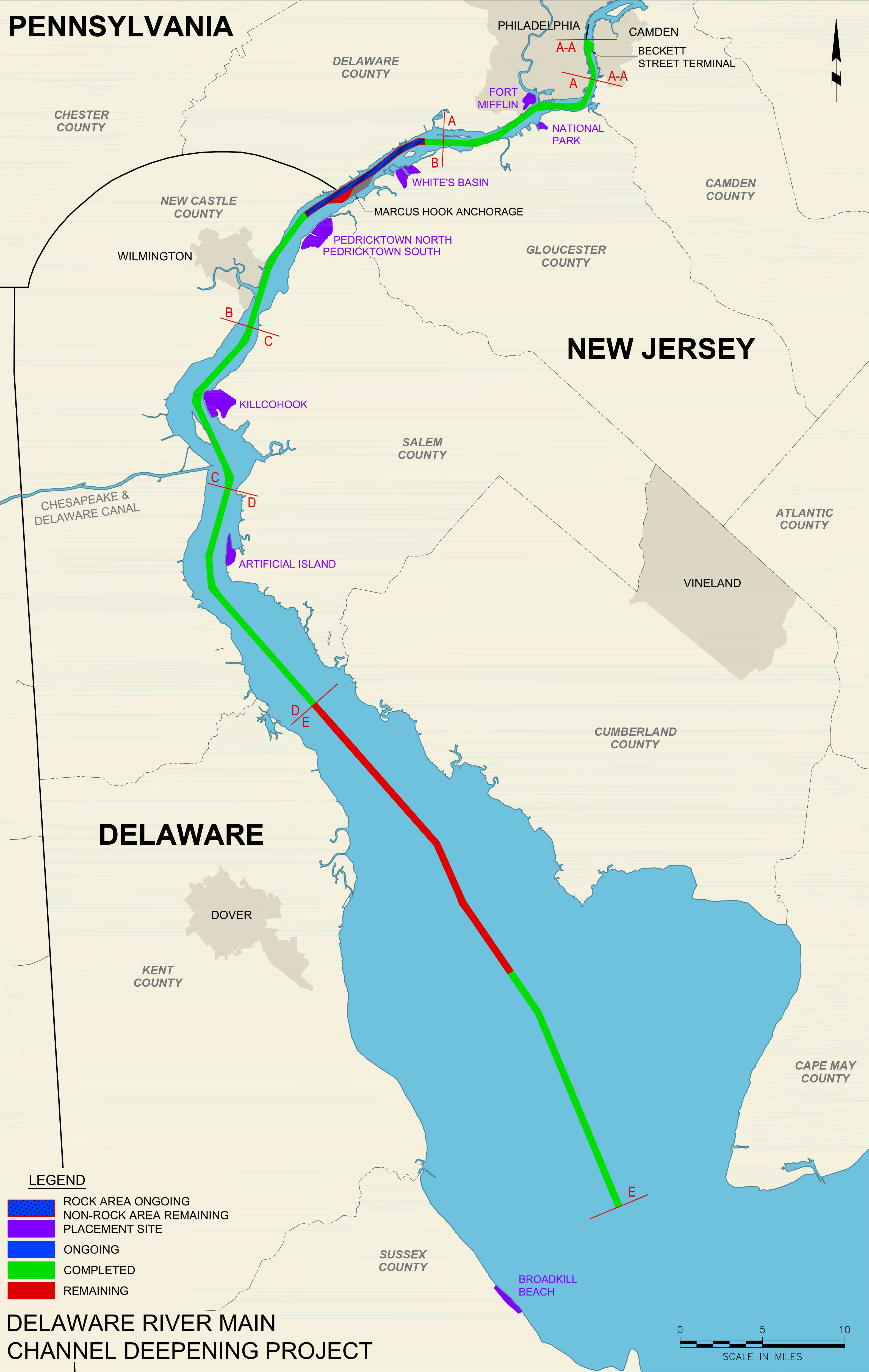 2016 Delaware River Deepening Project