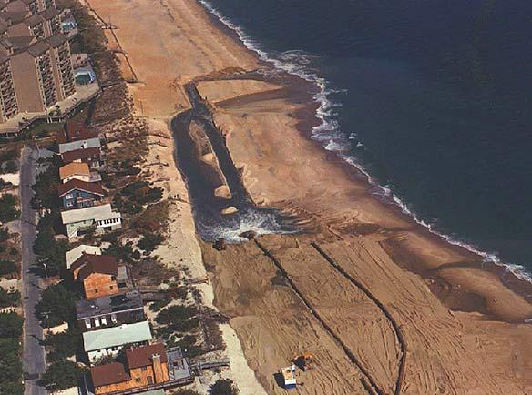 Beach Renourishment at Several Delaware Beaches