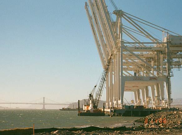 Container Wharf Design, Berths 55/56