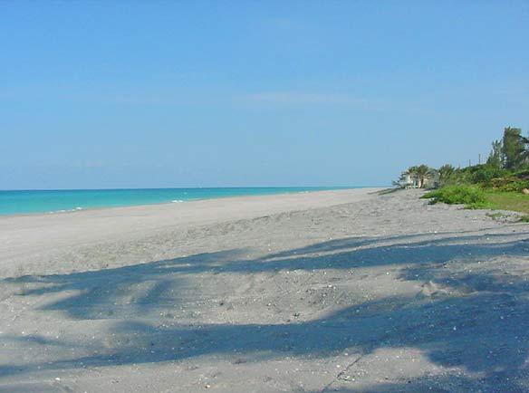 Jupiter Island after beach restoration