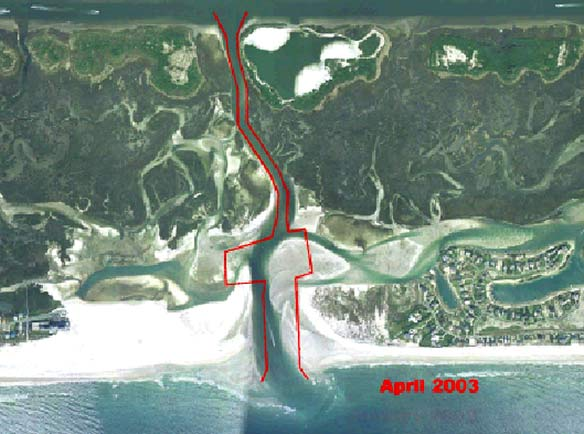 Mason Inlet Relocation