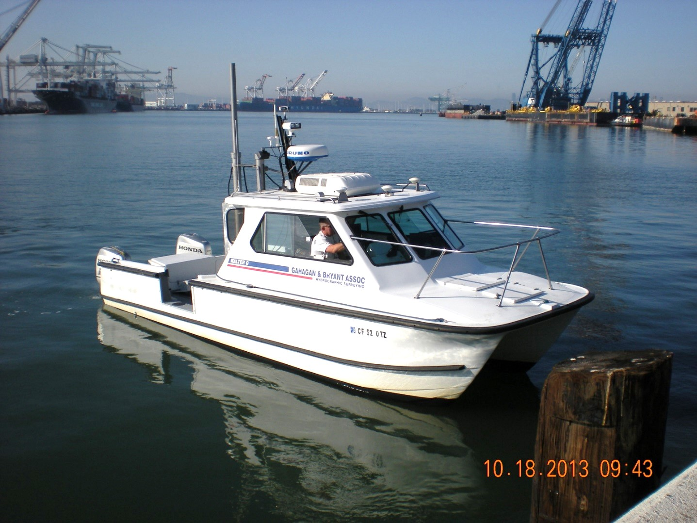 GBA Multibeam Survey Vessel